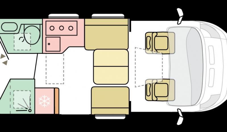 ADRIA CORAL SUPREM 670 DC complet