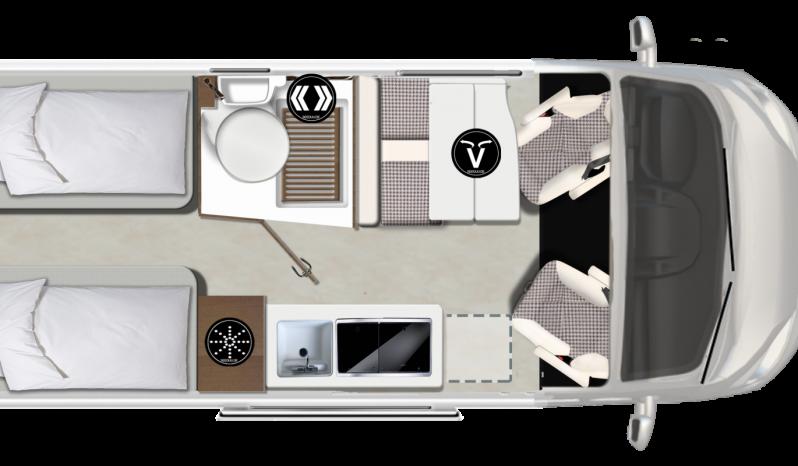 Karmann-Mobil Davis 620 complet