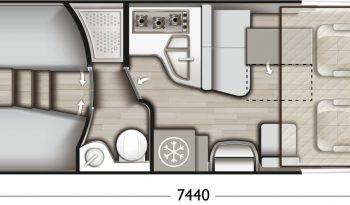 MOBILVETTA K YACHT TEKNO DESIGN 85 complet