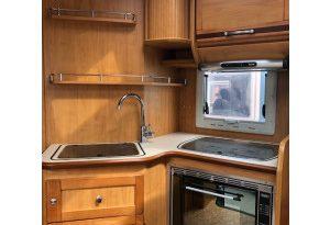 camping car profile fleurette 70LBM citroen jumper 2.2 L 130 CV complet