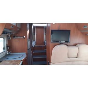 camping car integral laika rexosline 722 lits jumeaux iveco 3.0 l 160 CV complet
