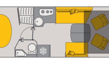 BAVARIA I781FC complet